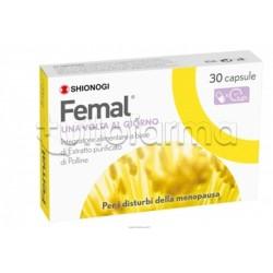 Femal Integratore contro Disturbi Menopausa 30 Capsule