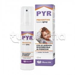 Pyr Lozione Spray Preventivo contro Pidocchi 125ml