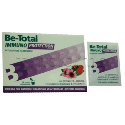 Be-Total Immuno Protection Integratore Difese Immunitarie 14 Bustine