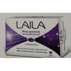 Laila Farmaco Naturale per Ansia e Insonnia 14 Capsule