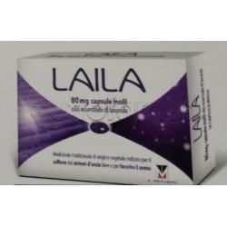 Laila Farmaco Naturale per Ansia e Insonnia 28 Capsule Molli