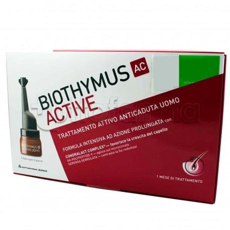 Biothymus Trattamento Anti caduta Capelli Uomo 15 Fiale 773ad72379e2