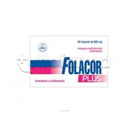 Folacor Plus Integratore per Gravidanza e Allattamento 30 Capsule