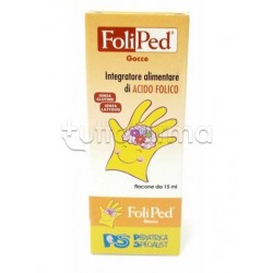 Foliped Gocce Acido Folico per Bambini 15ml