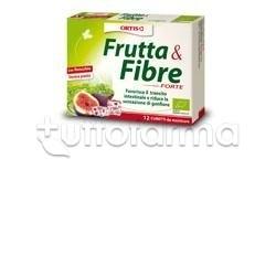 Frutta e Fibre Forte Bio Lassativo Naturale 12 Cubetti