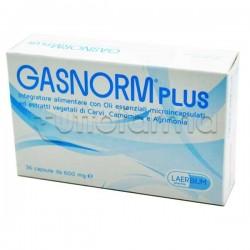 Gasnorm Plus Integratore per Aria Intestinale 36 Capsule