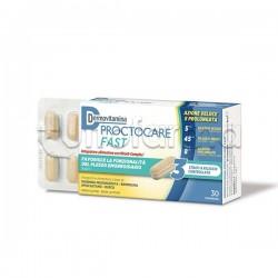 Dermovitamina Proctocare Fast Integratore per Emorroidi 30 Compresse