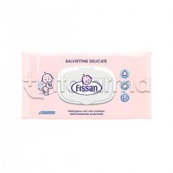 Fissan Salviette Detergenti Delicate per Bambini 65 Salviette