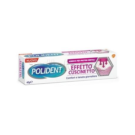 Polident Effetto Cuscinetto Gel Adesivo per Protesi Dentali 40gr