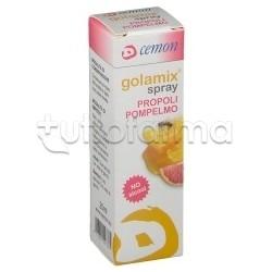 Golamix Spray con Propoli e Pompelmo per Mal di Gola