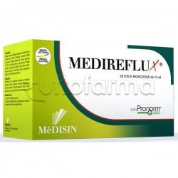 Medireflux Integratore per Acidità di Stomaco e Reflusso 20 Stick