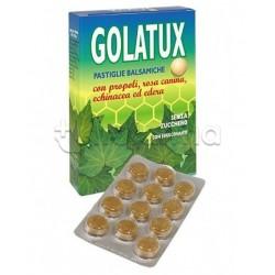 Golatux Caramelle Naturali per Mal di Gola e Tosse 24 Pastiglie