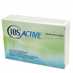 IBS Active Integratore per Colon Irritabile 30 Capsule