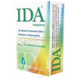 Ida Fermenti Lattici per Difese Immunitarie 12 Compresse Orosolubili