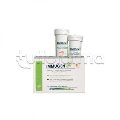 Immugen Effe Integratore per Difese Immunitarie 30 Compresse Effervescenti