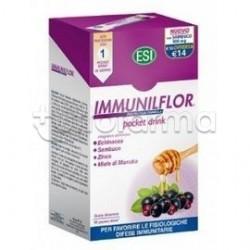 ESI ImmunilFlor per Stimolare Difese Immunitarie 16 Bustine Liquide