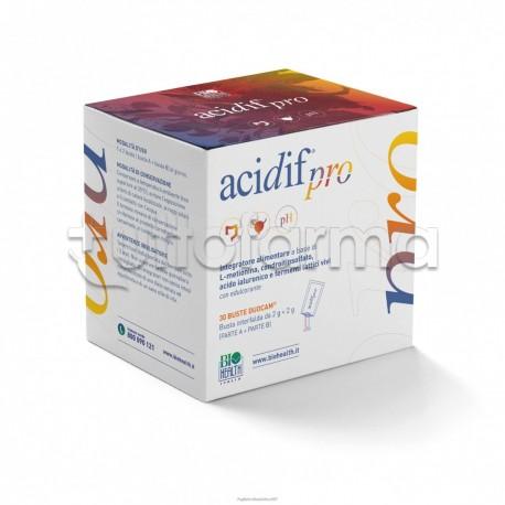 Acidif Pro Integratore per Vie Urinarie e Intestino 30 Bustine