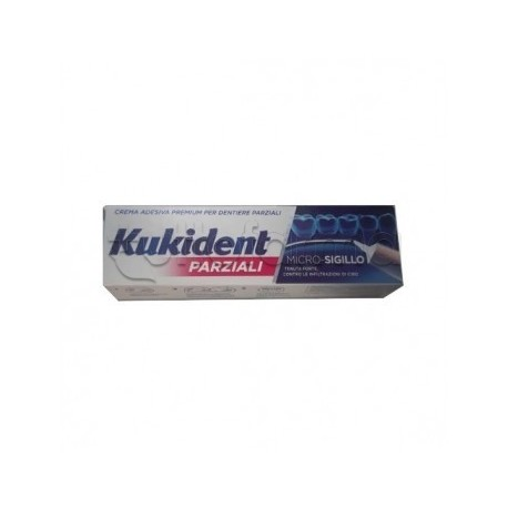 Kukident Parziale Crema Adesiva per Dentiere Parziali 40g