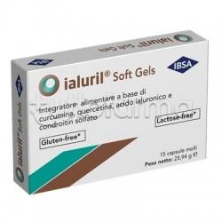 Ialuril Soft Gels per Benessere Articolazioni e Cartilagini 15 Capsule