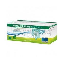 Enterolactis Fibra Integratore con Fermenti Lattici Vivi 12 Flaconcini