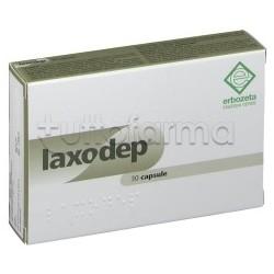Laxodep Integratore per Stitichezza e Regolarità 30 Capsule