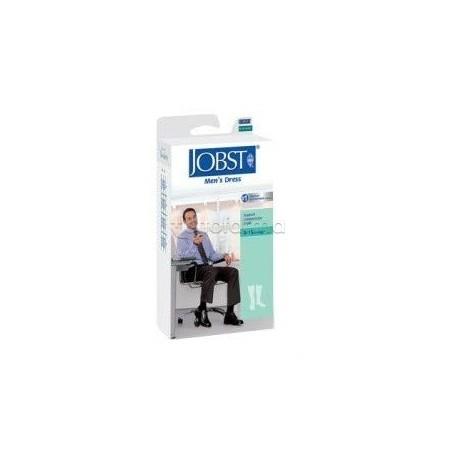 Jobst For Men Calza Uomo a Compressione 15-20 mmHg Taglia 5 Blu