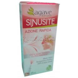 Agave Natura Sinusite Azione Rapida Spray Decongestionante 15ml