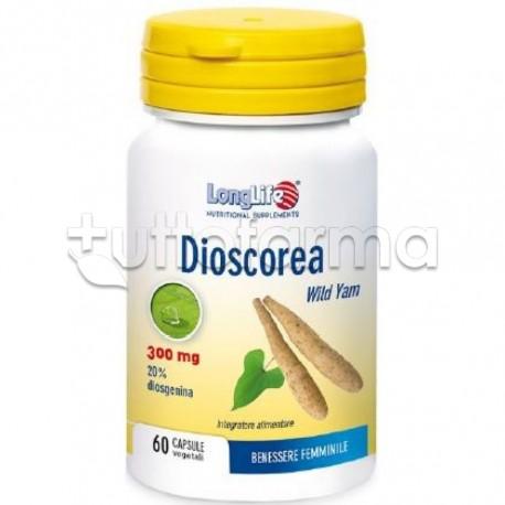 Longlife Dioscorea Integratore per Menopausa 60 Capsule