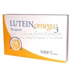 Lutein Omega 3 Integratore per Cuore e Circolazione 30 Capsule