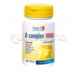 Longlife D Complex Vitamina D 1000UI 60 Compresse