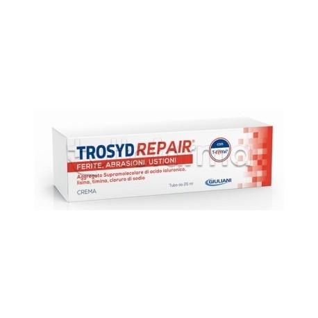 Trosyd Repair Crema per Ferite, Abrasioni e Ustioni 25ml