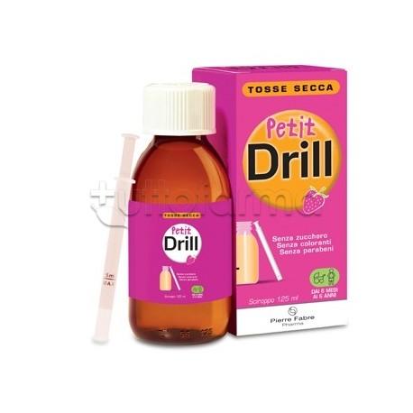 Petit Drill Sciroppo per Bambini per Tosse Secca 125ml