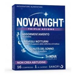 Novanight Tripla Azione per Sonno e Riposo 30 capsule