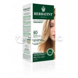 Herbatint 8D Biondo Chiaro Dorato 265ml