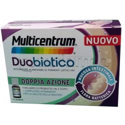Multicentrum Duobiotico Integratore di Fermenti Lattici 8 Flaconcini