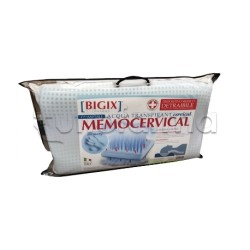 MemoCervical Cuscino Cervicale in Memory Foam 1 Pezzo