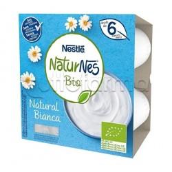 Nestlè NaturNes Biologico Merenda al Latte Bianca 4x90gr