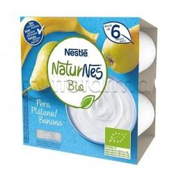 Nestlè NaturNes Biologico Merenda al Latte con Pera e Banana 4x90gr