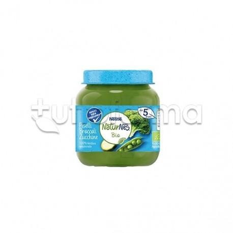 Nestlè NaturNes Biologico Omogeneizzato di Piselli Broccoli e Zucchine 125gr