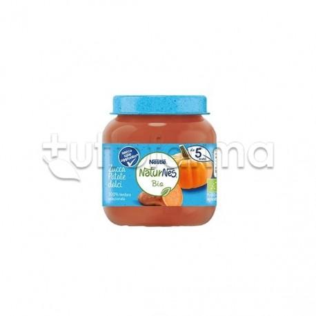 Nestlè NaturNes Biologico Omogeneizzato con Zucca e Patate 125gr