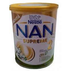 Nestlé NAN Supreme 2 Latte in Polvere per Bambini da 6 Mesi 800 grammi