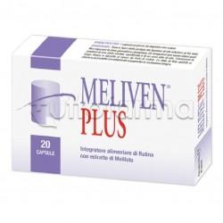 Meliven Plus Integratore per Circolazione Gambe e Emorroidi 20 Capsule