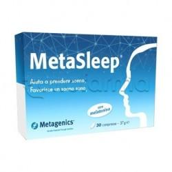 Metasleep Integratore per Dormire con Melatonina 1mg 30 Capsule