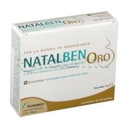 Natalben Oro Integratore Vitamine e Minerali per Gravidanza 28 Bustine