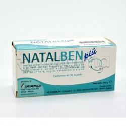 Natalben Più Vitamine e Minerali per Gravidanza e Maternità 30 Capsule Molli