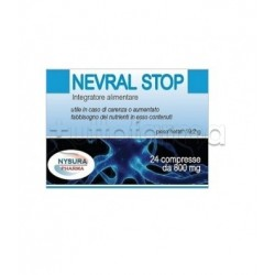 Nevral Stop Integratore per Dolori e Nervi 24 Compresse