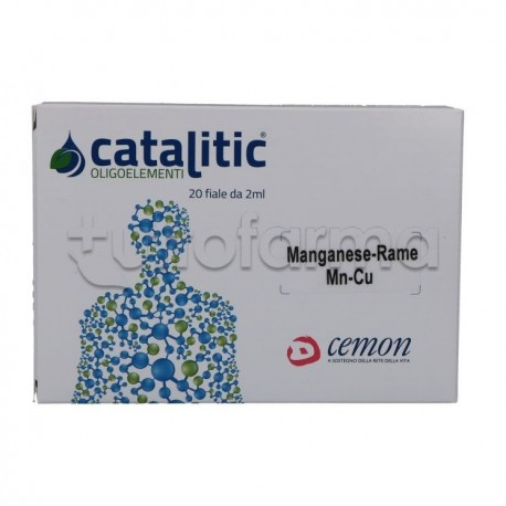 Cemon Catalitic Manganese-Rame 20 Ampolle