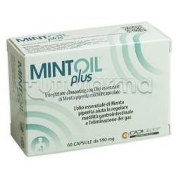 Mintoil Plus Integratore per Gonfiore e Dolori Addominali 60 Capsule