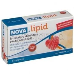 Nova Lipid Integratore per Abbassare Colesterolo 30 Compresse