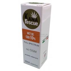 KanaRescue Olio con Cannabis CBD 10% Uso Veterinario 10ml - Concentrazione Doppia